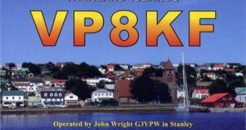 VP8KF John in Port Stanley