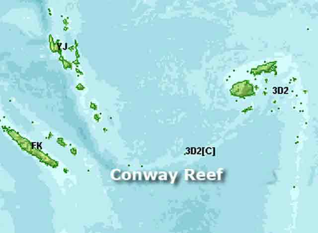 Conway Reef 3D20CR