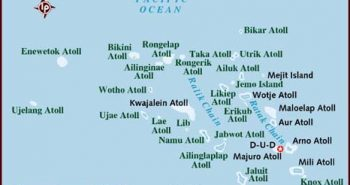 map of marshall-islands