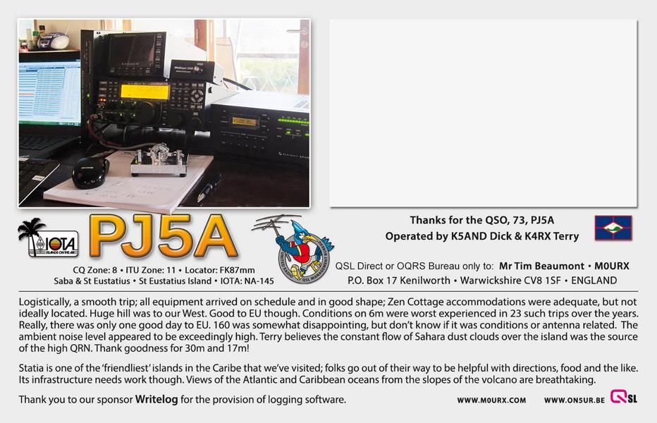 K800 QSL-PJ5A-BACK