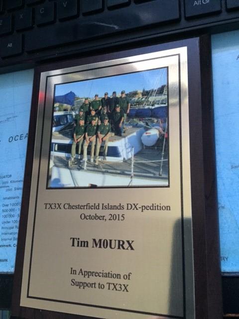 TX3X Plaque