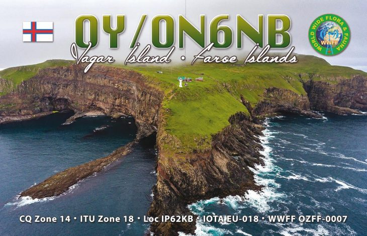 K1024 QSL-OY-ON6NB