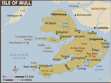map of isle-of-mull