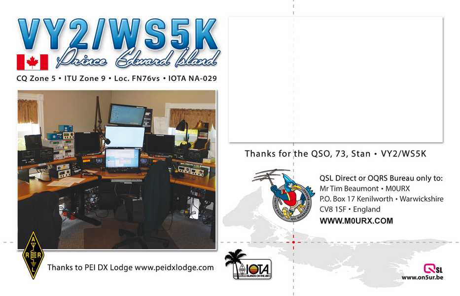 K800 QSL-VY2-WS5K-Back